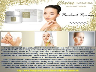 Claire Hydrafirm Cream - The Best Way To Claire Hydrafirm Cream Skin Care