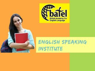 English Spoken Institute in Malviya Nagar
