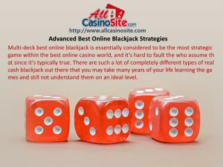 Advanced Best Online Blackjack Strategies