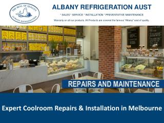 Expert Coolroom Repairs & Installation in Melbourne