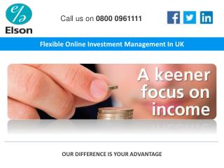 Flexible Online Investment Management In UK