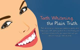 Teeth Whitening - To Obtain A Perfect Smile