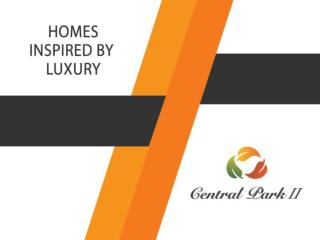 Ready to Move Homes with Central Park 2 Gurgaon