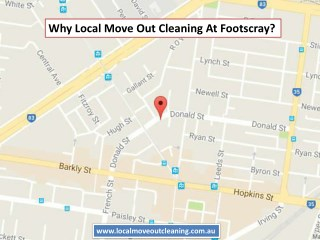 Why Local Move Out Cleaning At Footscray?