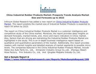 China Industrial Rubber Products Market Prospects Trends Analysis Market Size and Forecasts up to 2023