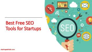 Best Free SEO Tools For Startups