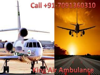 India Based Medical King Air Ambulance Service in Shillong