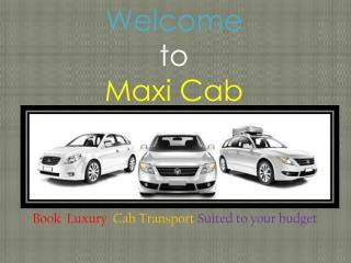 Maxi Cab