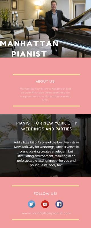 Piano Players New York - Pianists ManhattanNYC