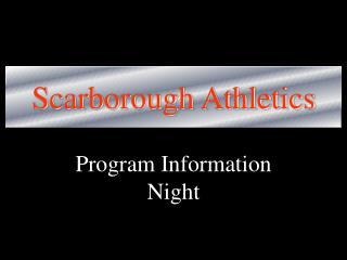 Scarborough Athletics