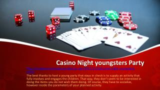Casino Night youngsters Party