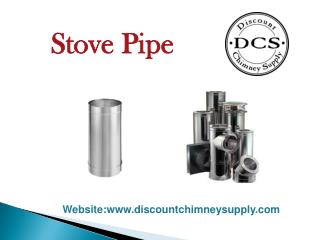 Stove Pipe from Discount Chimney Supply Inc.