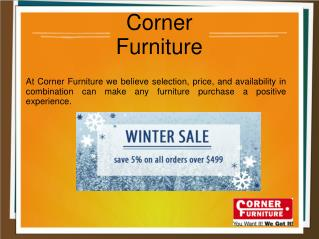 Furniture Store For Home Decoration - Corner Furniture