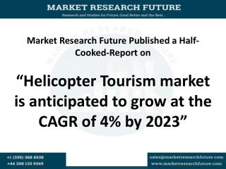 Helicopter Tourism market: Future Demand and Growth Analysis