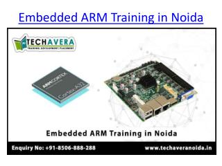 Embedded System ARM Training in Noida | Best Embedded System ARM Training Institute in Noida