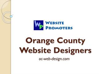 Orange County Website Designers - oc-web-design.com