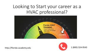 Want to Become a successful career in HVAC?