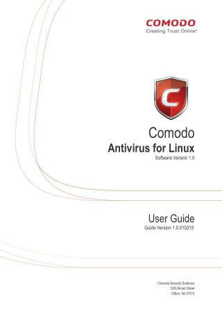 Comodo Antivirus for Linux User Guide