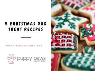 5 Christmas Dog Treat Recipes
