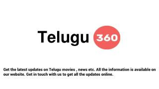 Tollywood Latest News - Telugu360