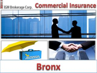 Commercial Insurance Bronx