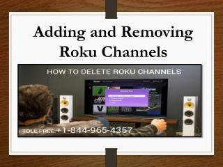 Add or Remove Roku Channels