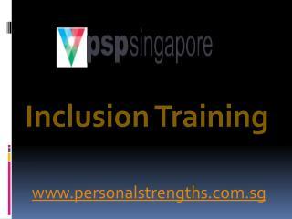 Inclusion Training - personalstrengths.com.sg