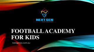 Football academy for kids