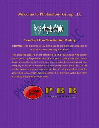 Local Business Directory Listing at www.angels-ad-pbb.com
