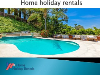 Vacation rentals in Naples -Home holiday rentals