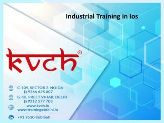 iOS Six Months project based training in noida