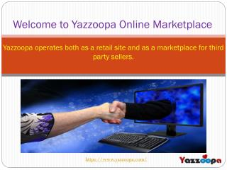 Top Online Marketplace for Vendors - Yazzoopa