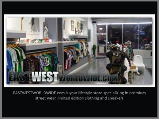 East West Worldwide - Streetwear & Urban Clothing