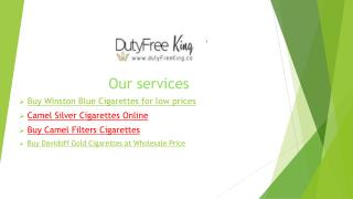 Online Store to Buy Winston Blue Cigarettes for Low Prices