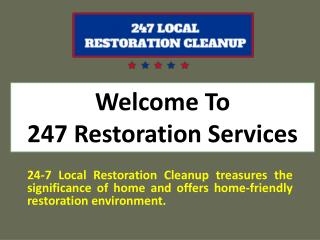 Best Local Restoration Cleanup Services