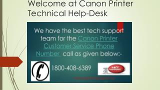 canon printer not working