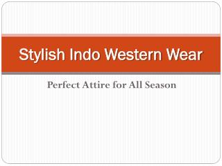 Stylish Indo Western Wear for Girls