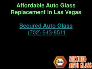 Auto Glass Repair Experts in Las Vegas