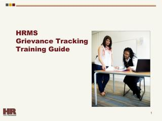 HRMS  Grievance Tracking Training Guide