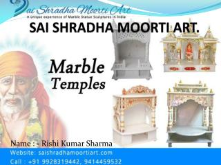 Best Marble Statues Manufacturer Company in Jaipur | Sai Shradha Moorti Art.
