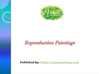 Reproduction Paintings