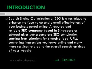 Best SEO Company in Singapore Rankings of Best SEO Services Agency Pricing.
