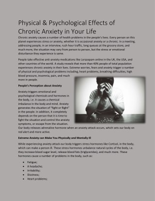 https://www.slideshare.net/sleepingpilluk/physical-amp-psychological-effects-of-chronic-anxiety-in-your-life
