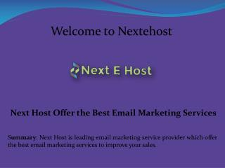 Mass Email Marketing Services, Intersperse Email Marketing