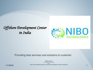 Offshore Development Center - NIBO Technologies