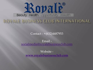 Royale Beauty Products Packages Price