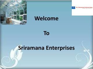 Polyurethane PUF panel suppliers in chennai - Sriramana Enterprises