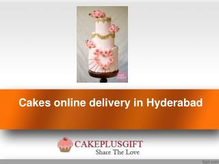 Birthday cake online delivery Hyderabad | Order Cake Online Hyderabad- Cake plus gift