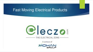 Fast Moving Electrical Products
