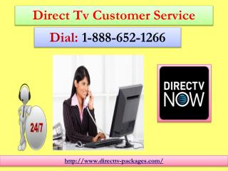 Direct Tv Packages 1-888-652-1266 Provides Online stand For Direct To Home Television Needs